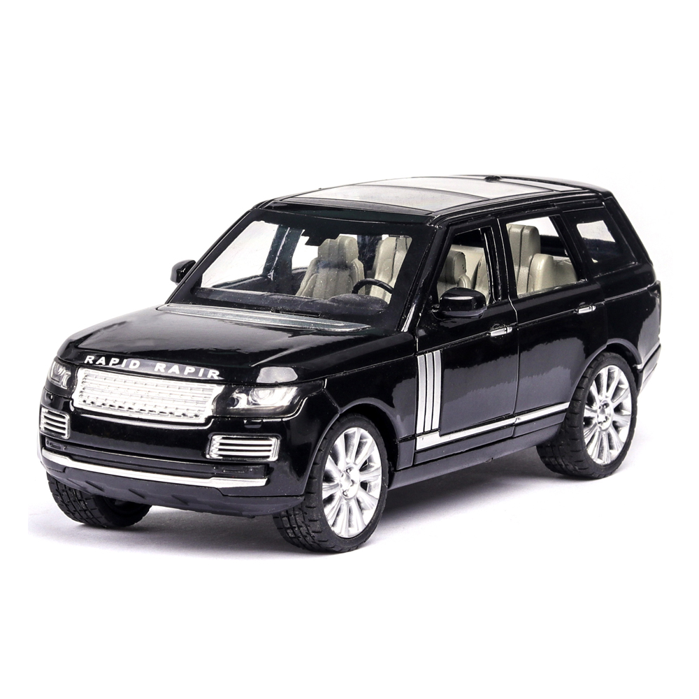 1:24 New Color Limited Sale Lands Rover Rang Rover Toy Car Model SUV Sound And Light Diecasts & Toy Vehicles Kids Toys Boys Cars