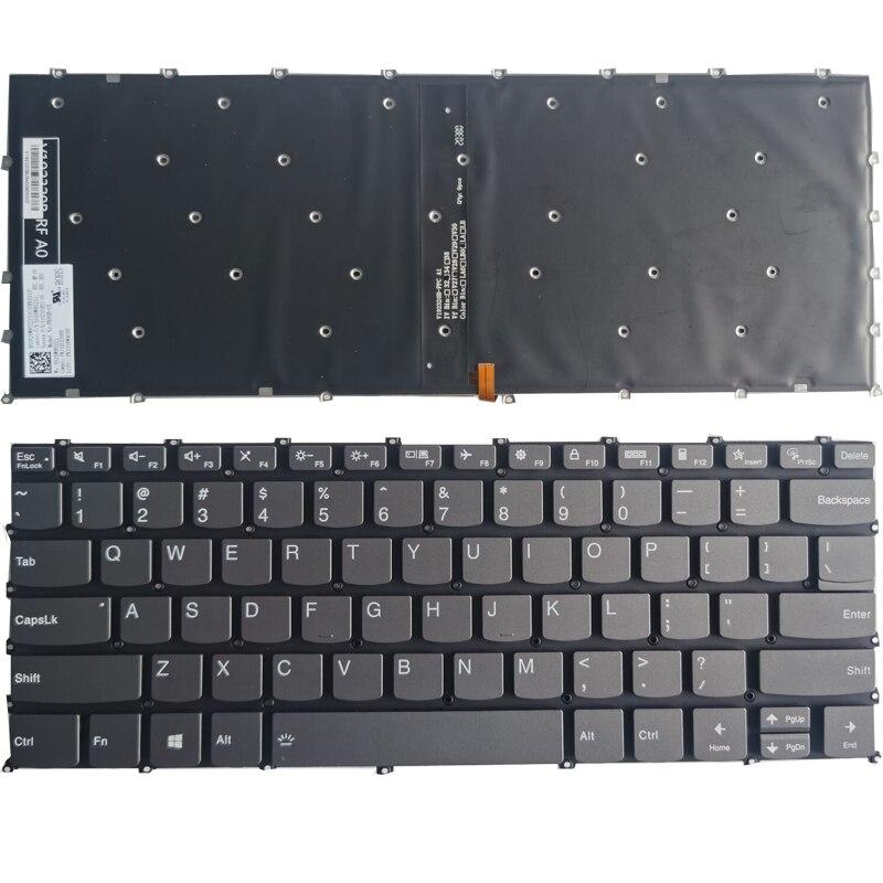 НОВЫЙ США клавиатура для ноутбука Lenovo Xiaoxin -13IML 2019 S340-14 Йога 14SITL 2021 с подсветкой