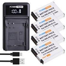 Зарядное устройство ENEL12, светодиодный USB-аккумулятор и зарядное устройство для Nikon Coolpix AW100 AW100s AW110 AW110s AW120 P330 P340 S310 S70 S610 S620 S630