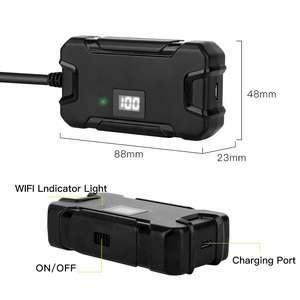 Image 4 - Y13 5.5mm WIFI Endoscope Camera with Battery Screen Display HD1080p Waterproof Inspection Borescope for Iphone Android Phones