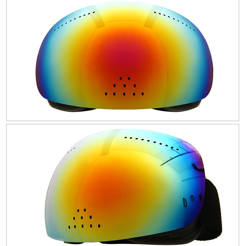 Ski Goggles Large Spherical Surface Double Layers Anti-fog Big Ski Mask Glasses Outdoor Sport Protection Skiing Goggles