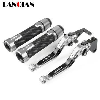 Motorcycle CB650R CNC Adjustable Brake Clutch Lever & 7/8 22MM Handlebar Grips For Honda CB 650R 2019 2020 CB650R Accessories