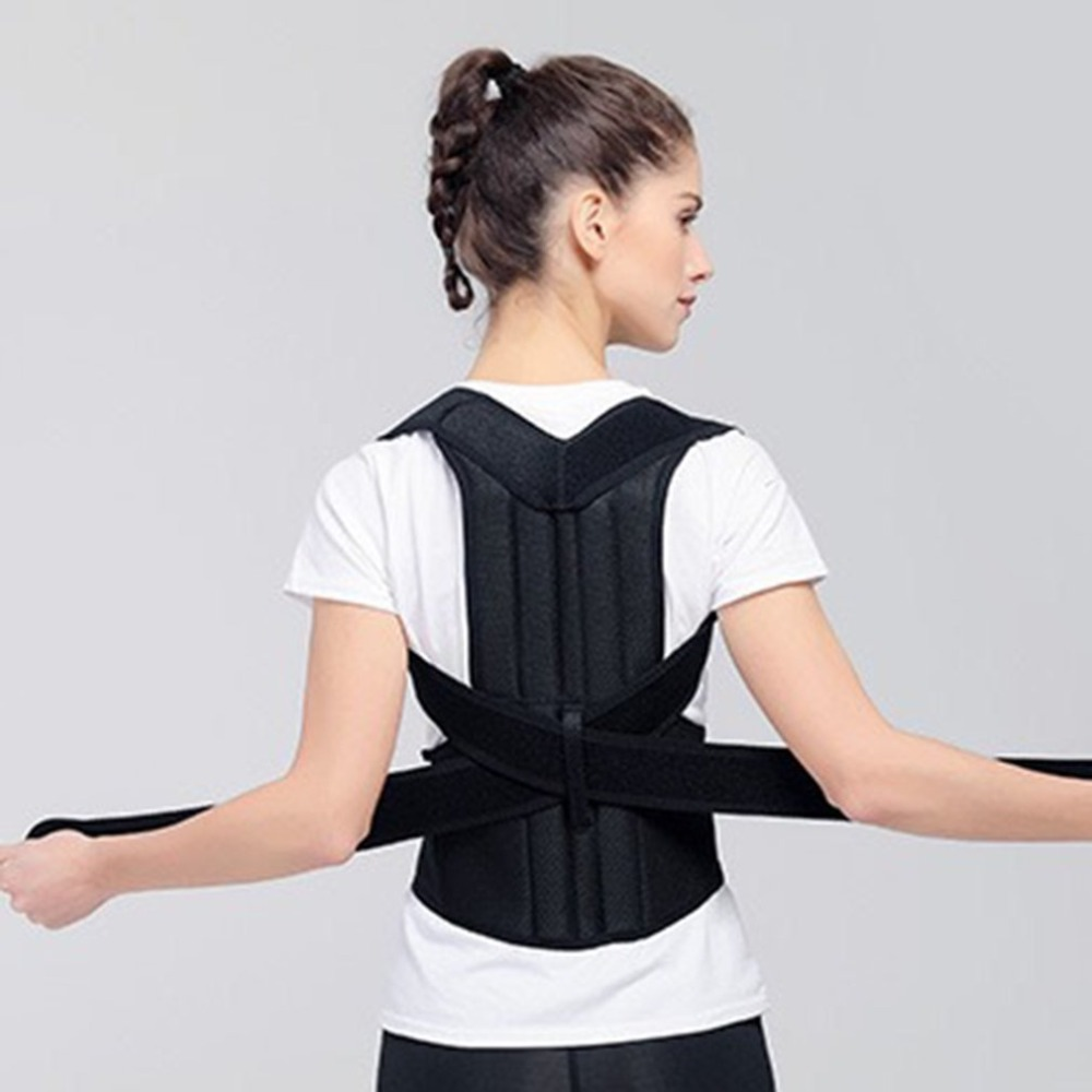 Posture Correct <font><b>Humpback</b></font> Correction Back Brace Spine Back Orthosis Scoliosis Lumbar Support Spinal Curved Orthosis Fixation image