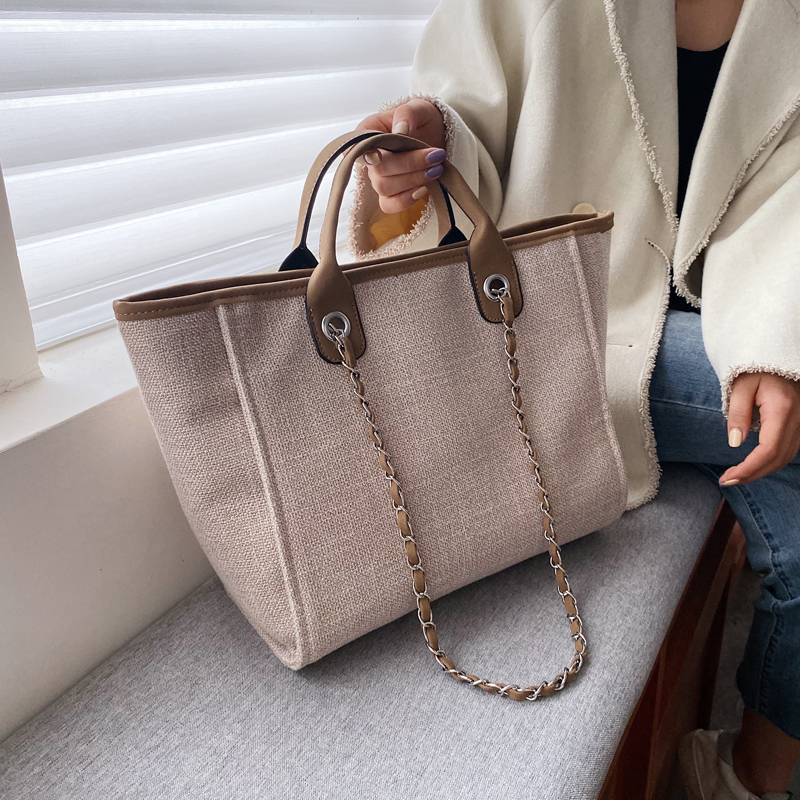 Casual Large Tote Bag 2020 Fashion New High Quality Canvas Women's Designer Handbag High Capacity Shoulder Messenger Bag