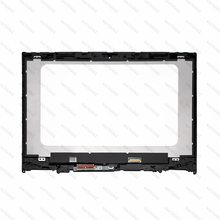 цена на 14'' FHD LED LCD Touch Screen Glass Digitizer Panel Assembly +Bezel For Lenovo Flex 5 14 yoga 520-14IKB
