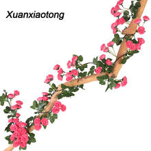 Get more info on the Xuanxiaotong 180cm 69 Head Intensive Rose Faux Flower Vine for Outdoor Wedding Decoration Fall Farmhouse Party Garland Decor