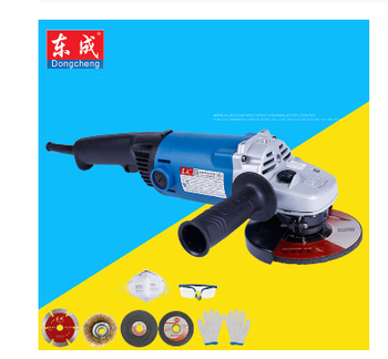 цена на 220V 560W Handheld Electric Angle Grinder Speed Regulating Grinding Machine for Metal Wood Polishing Cutting Tool
