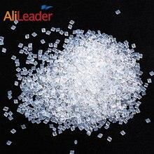 Alileader итальянский Кератиновый клей для наращивания волос, сильный клей для волос, золотые белые плавильные бусины