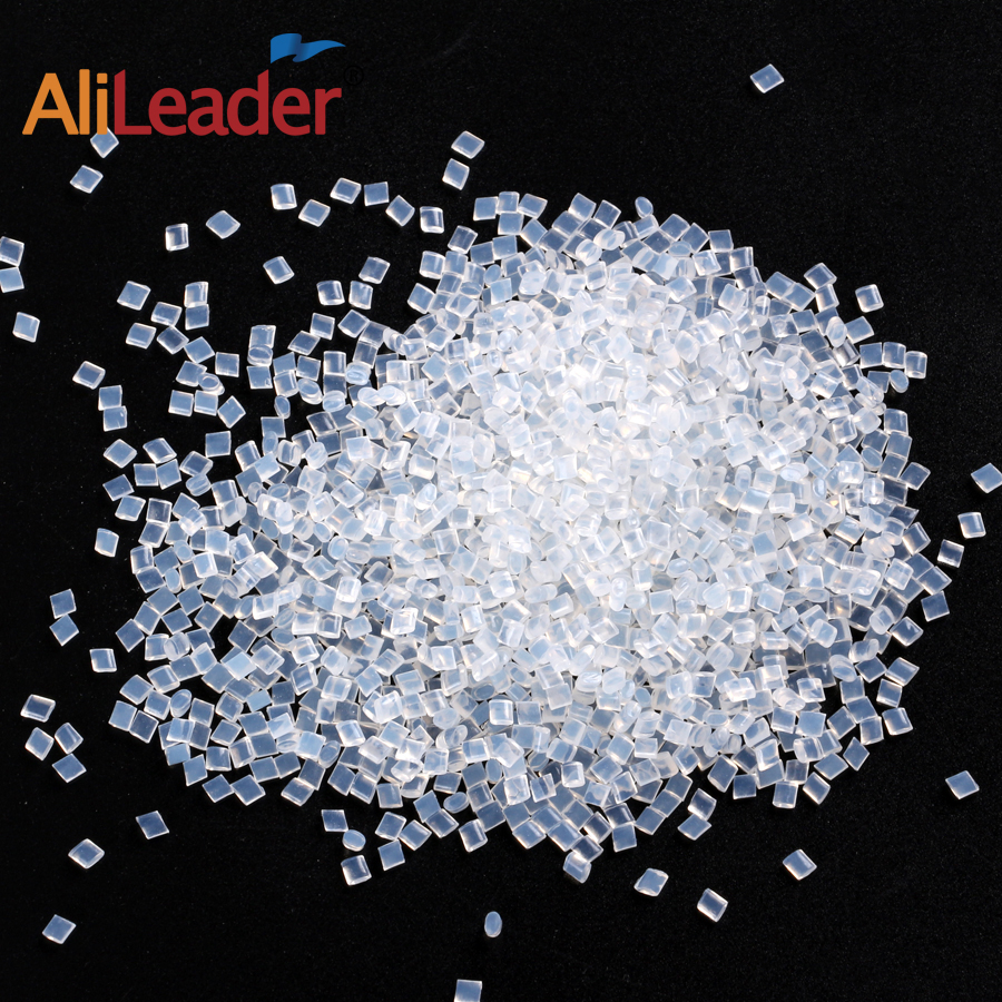 Alileader Italian Keratin Glue For Hair extension Strong Hold Hair Glue Golden white Melting Beads image
