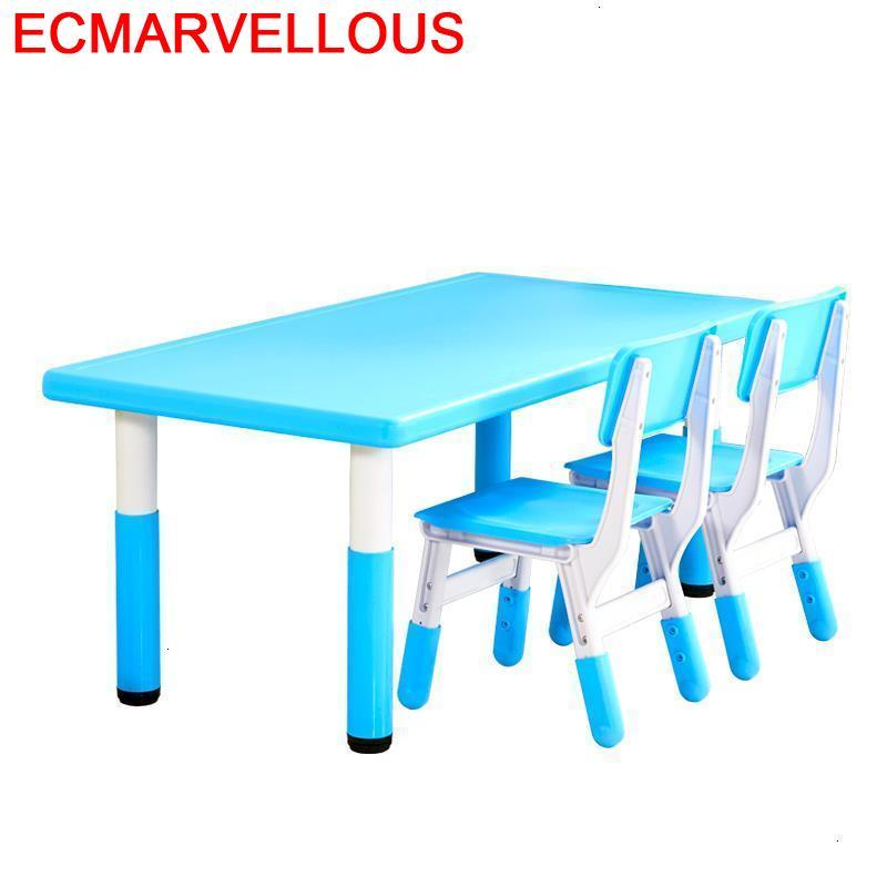 Play Chair And Escritorio Infantil Tavolo Bambini Mesa De Estudo Kindergarten Enfant Study For Kids Kinder Children Table