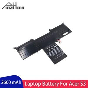 PINZHENG 2600 mAh AP11D4F AP11D3F batería del ordenador portátil para ACER Aspire S3 S3-951 S3-951-2464G24iss S3-951-6464 S3-951-6646 batería