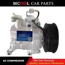 цена на For Daihatsu Sirion Toyota Passo ac compressor SV07C 447280-3150 4472803150 4472605820 4472803150 88320B1020 447260-5820 6PK