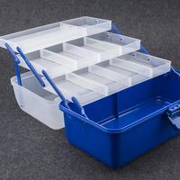 HiMISS 3 Layer 30*18*14CM Large Fishing Box Plastic Multifunctional Fishing Tackle Box Fishing Tool Case Shrimp Storage Box|Fishing Tackle Boxes|Sports & Entertainment -