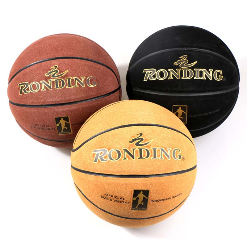 Official Cowhide Size 7 Basketball Adult Wear Resistant Sweat Basketball Ball Indoor Training Match Professional Basket Ball