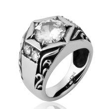 Fdlk мужское кольцо с круглой огранкой 403 карат из карбида