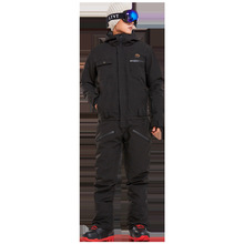 New men and women single board one-piece ski suit pants suit waterproof quilted single and double board couple ski clothes