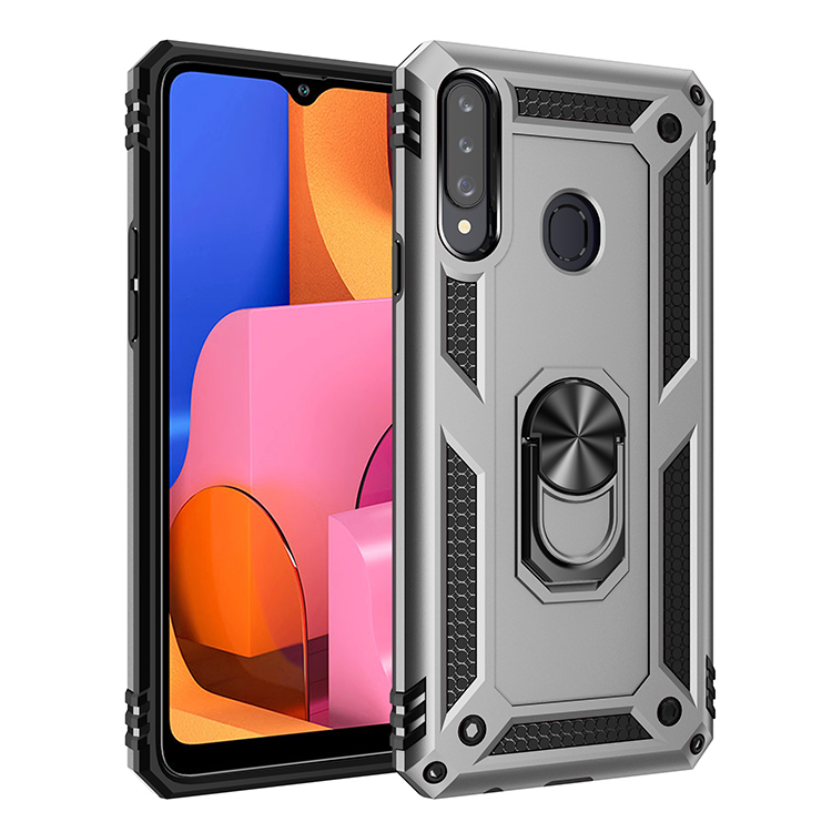 Armor Bumper Ring Stand Holder Phone Case For LG Stylo 2 3 5 K40 K12 K30 K50 Q60 K10 X4 X415 Aristo 3 4 K30 Plus 2018 2019 Cover