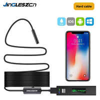 Wireless Endoscope 1200P Semi-rigid WiFi Borescope Inspection Camera 2.0 Megapixels HD Snake Camera For Android IOS Endoscope