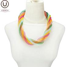 UKEBAY – collier ras du cou multicolore pour femmes, doux, accessoires pour vêtements de fête de mariage, bijoux de styliste bohème, nouvelle collection