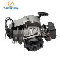 Cross country motorcycle refit parts small sports car 40 6 two punch aluminum hand pull old air engine factory direct sales