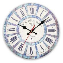Reloj de pared de madera Vintage de 12 pulgadas reloj de cuarzo Retro moderno reloj de mesa de decoración de pared de hogar conciso silencioso