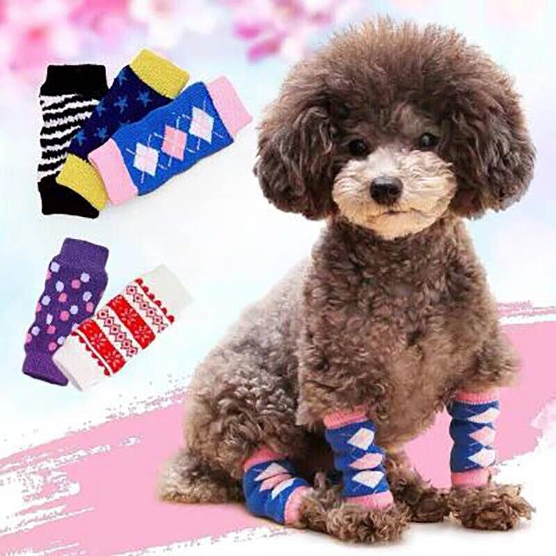 Pet Anti-dirty Anti-urine Leg Cover Leggings Knee Pads Dog Foot Cover Dog Socks Anti-urine Leg  Socks Cover Joint Protection Dog