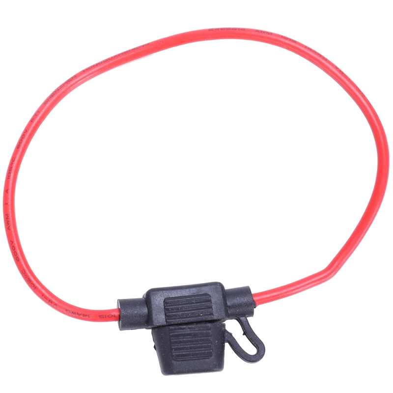 14AWG Wire In-line Car Automotive Mini Blade Fuse Holder 20A AD