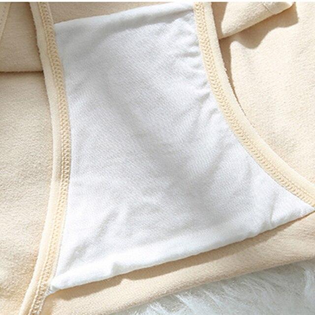 Women's Underwear Cotton Sexy Panties Mid-Waist Briefs Steel Ring Design 6