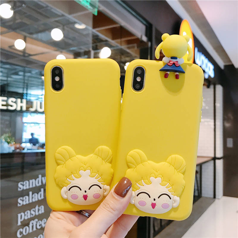 Cartoon Couple Fashion Case for Samsung Galaxy A71 A51 A70 A60 A50 A40 A30 A20 A10 M30 M20 M10 A80 Silicone Matte Cover Girls image