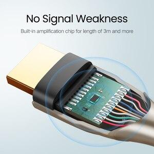 Image 4 - Ugreen HDMI 2,0 кабель полная длина 4 к 60 Гц HDMI к HDMI для tv сплиттер переключатель видео Суперскоростной HDMI шнур
