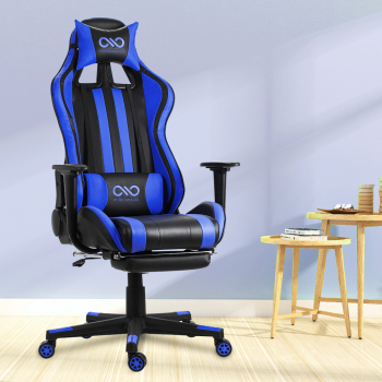 WCG Gaming Chair Computer Armchair Home Swivel Office Chair Lying Household Lifting Adjustable Desk Chair Racing Gamer Chair 1