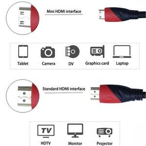 Image 4 - 1080P 3D Tác Dụng Chuyển Mini HDMI Sang HDMI Tốc Độ Cao Adapter Với Đầu Cắm Mạ Vàng Cho Máy Ảnh Màn Hình Máy Chiếu máy Tính Xách Tay
