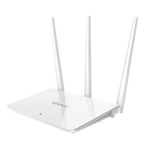 Image 5 - Tenda f3 300mbps 2.4g roteador wifi repetidor, interface inglês 1wan + 3lan portas, para casa pequena e média