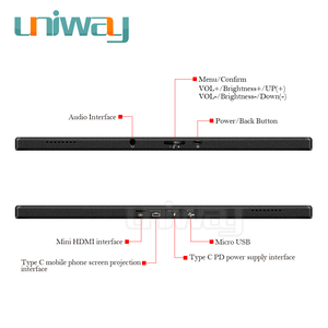 Image 5 - Uniway 15.6 portable monitor 1080 IPS screen USB Type C HDMI display for PC laptop Ps4 Switch Xbox gaming monitor
