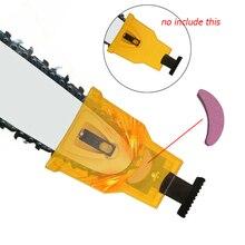 2 개/대 그라인딩 스톤 고품질 휴대용 빠른 그라인딩 체인 스톤 전기 톱 숫돌 도구 전기 톱 액세서리