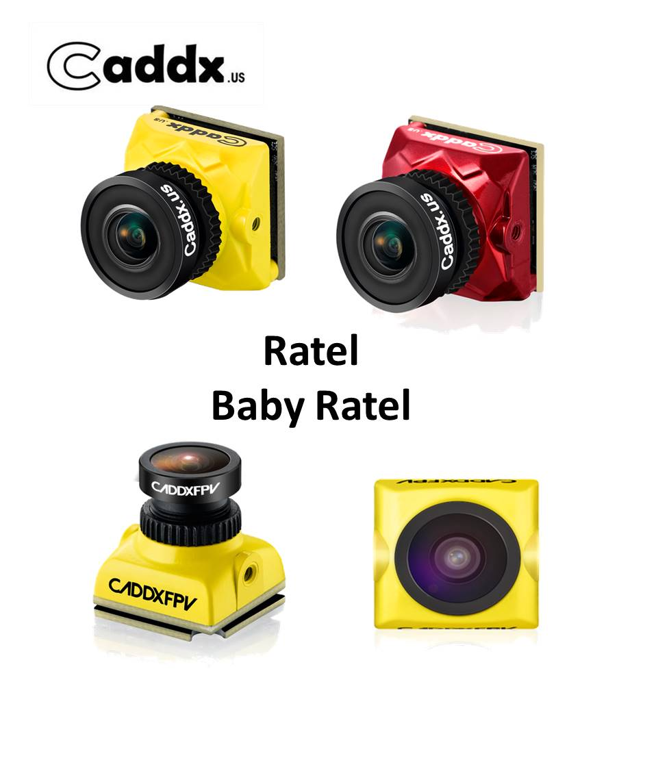 Caddx Baby Ratel 2 1/1.8 ''Starlight HDR OSD 1200TVL 16:9 4:3 NTSC/PAL переключаемый объектив 1,66 мм/2,1 мм FPV камера FPV гоночный Дрон