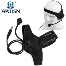 WADSN Selex TASC1 Tactical Headset Military standard one side earphone Airsoft hunting ear protection shooting Headphone Z028-FG