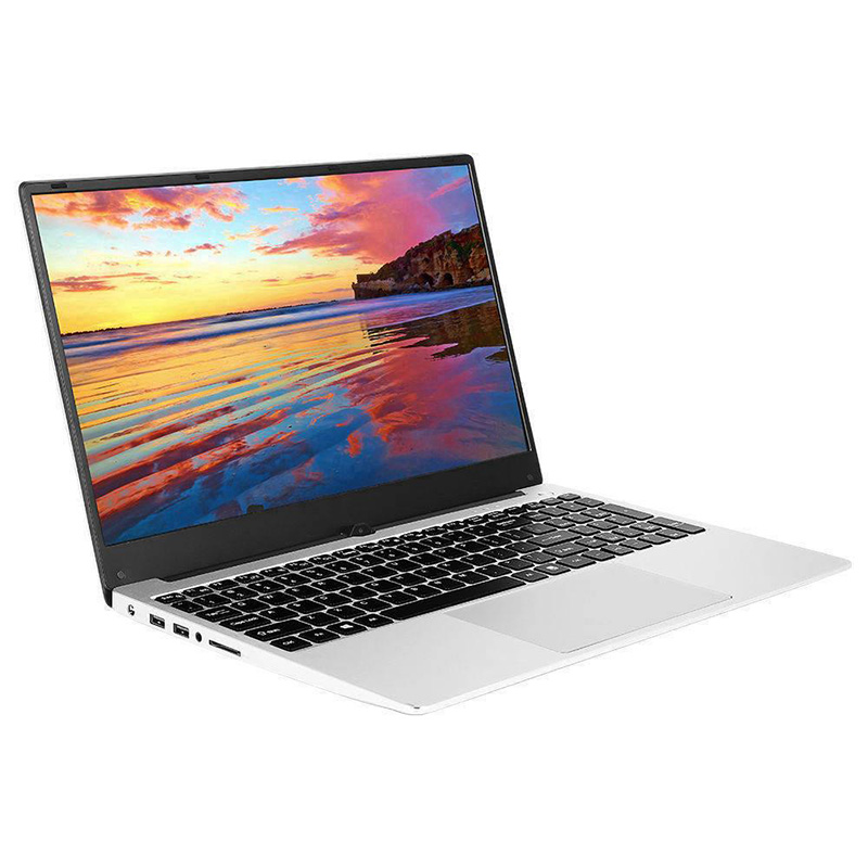 VORKE Laptop 15 4G Notebook Intel Core i7-4500U Metal Shell 15.6'' Screen 1920*1080 Windows10 8GB DDR3 256GB SSD Silver Computer