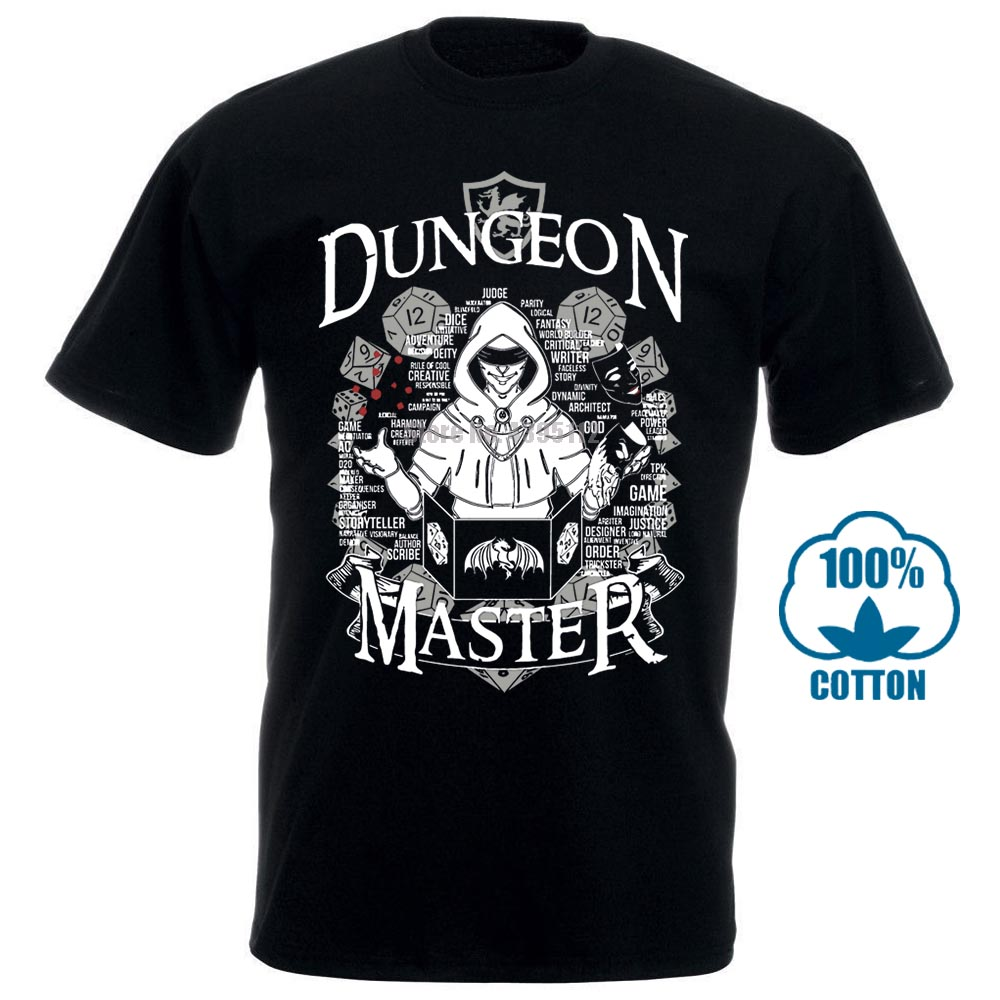 2018 New & Now On Sale 3D Print Im The Dm Dungeon Master Dnd D&Amp;D Dungeons And Dragons Inspired For Men T Shirt Big Size 3