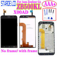 STARDE 5'' LCD for Asus ZenFone Go ZB500KL X00AD LCD Display Touch Screen Digitizer Assembly with Frame and Free Toos