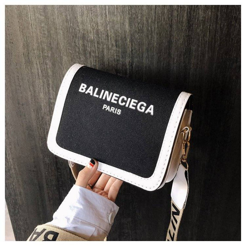 Crossbody Bags For Women 2019 New Contrast Color Shoulder Single Shoulder Messenger Bag Fashion Letter Small Square Flap Purse