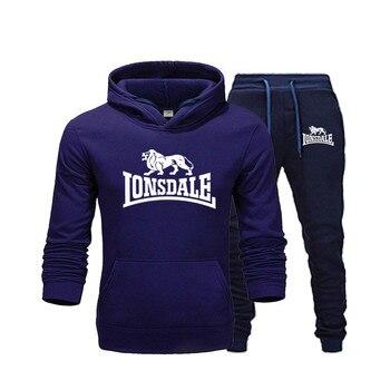 Men's new sports suit men's casual sportswear sweatshirts men's jacket sportswear running fitness sportswear фото