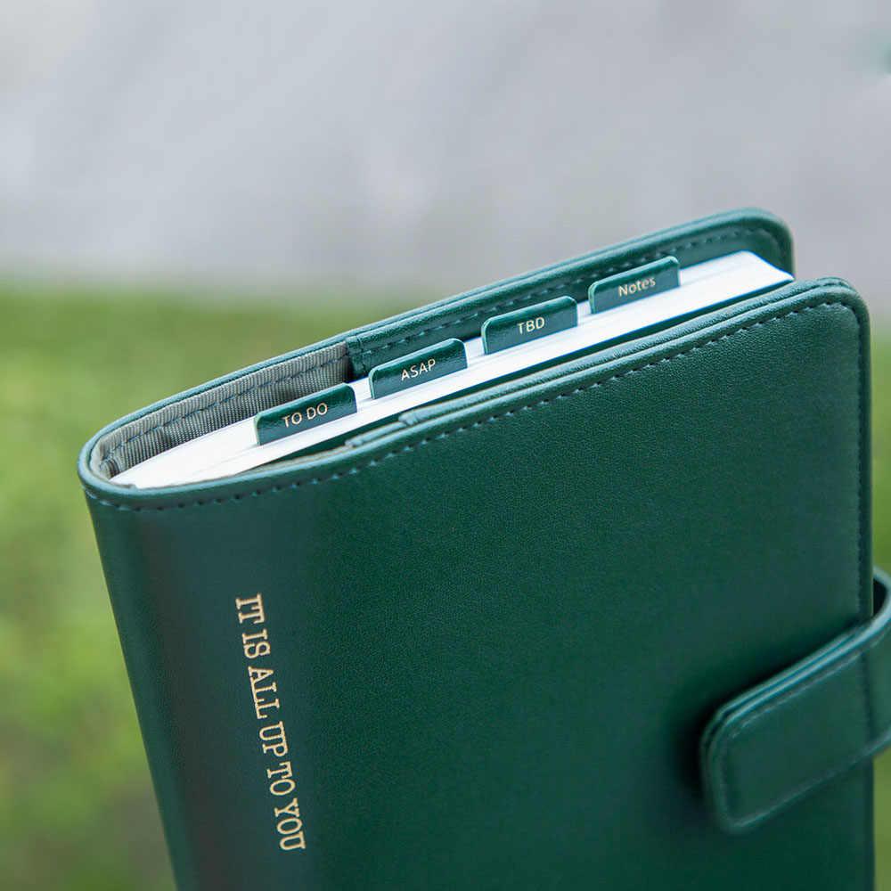 Xiaomi Kinbor DIY Index Aufkleber PU Kreative Büro Neuheit Haftnotizen Planer Aufkleber Seite Büro Schule Liefert Schreibwaren