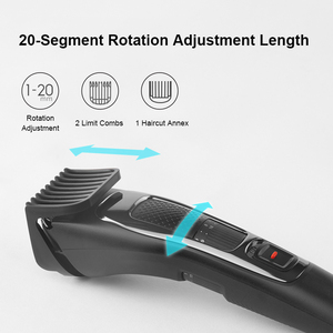 Image 4 - Youpin Enchen Electric Hair Clipper Sharp3S Rechargeable Hair Trimmer Professional Low Noise Hairdress For Adult Children