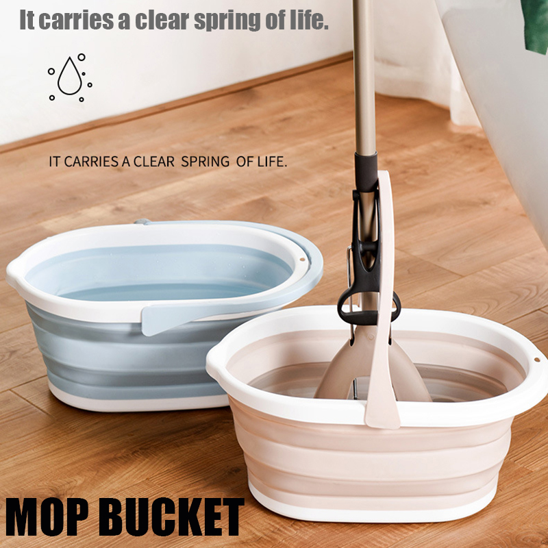 Portable Folding Bucket Basin Camping Fishing Car Wash Household Cleaning Tool