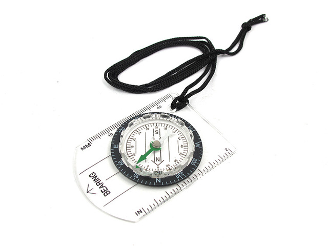 Hot Portable Outdoor  Professional Multi-Functional Compass Refers To The North Needle Map Scale Scale Outdoor Equipment Compass 6