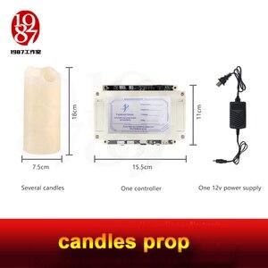 Image 5 - 실생활 탈출 방 게임 propTAKAGISM 게임 소품 불어 촛불 밖으로 또는 순서대로 불어 센서는 문을 열려면 램프에 불어