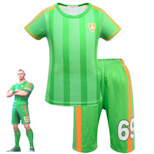 Kids Clothing Set Aerial Threat Boys Character Football Cosplay Clothes Fortnited Carnival Costumes Ninja Party Funny Clothing