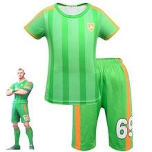 Kinder Kleidung Set Luft Bedrohung Jungen Charakter Fußball Cosplay Kleidung Fortnited Karneval Kostüme Ninja Party Lustige Kleidung