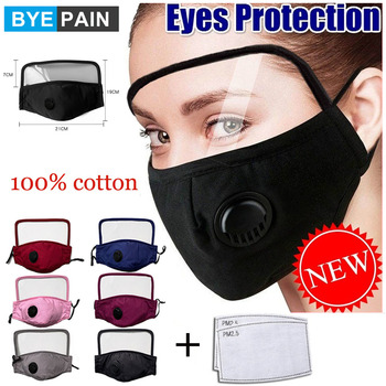PM2.5 Breath Valve Respirator Masks Dust Mask Activated Carbon Filter Insert Washable Reusable Cotton Mouth Mask 2017 new arrival hot selling respiration valve industrial gas masks activated carbon filter safety mask labor protection